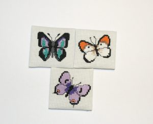 Butterflies on Evenweave